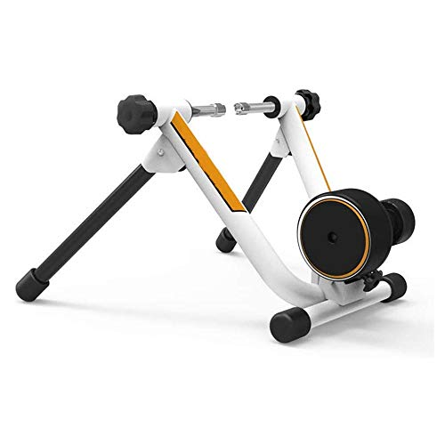 LKNJLL Bike Trainer, Magnetic Bicycle Stationary Stand for Indoor Exercise Riding, Portable, Quick Release Skewer