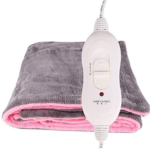 Preisvergleich Produktbild Heizdecke einlagig,  multifunktionale warme Decke,  3 Arten der Temperatureinstellung,  schnelles Erhitzen,  warm und beruhigend,  einfach zu bedienen,  sicher und waschbar,  mehrfarbig und in mehreren Größe