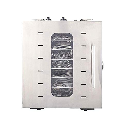 Best Bargain Yalztc-zyq16 Commercial Grade Stainless Steel Electric Food Dehydrator, Meat or Beef Je...