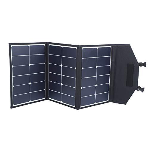 Solar Panel Equipo, Plegable Solar Panel Cargador 90w corriente continua 22v por Exterior Cámping Coche Rápido Cargadura