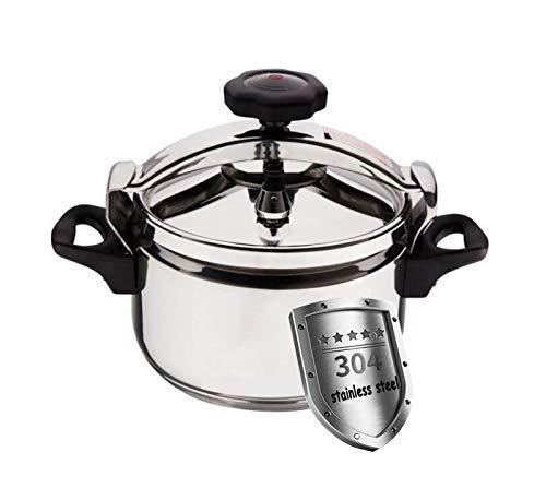 Cuisinière à pression 3L-40L Soupe portable en plein air Camping en acier inoxydable Cuisinière à pression en acier inoxydable Multi-capacité Gaz Induction Cuisinière Général Cuisine Salle à manger