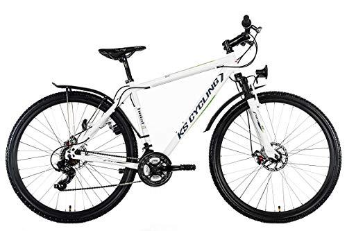 """KS Cycling Mountainbike Hardtail ATB Twentyniner 29"""" Heist weiß-grün RH51cm"""