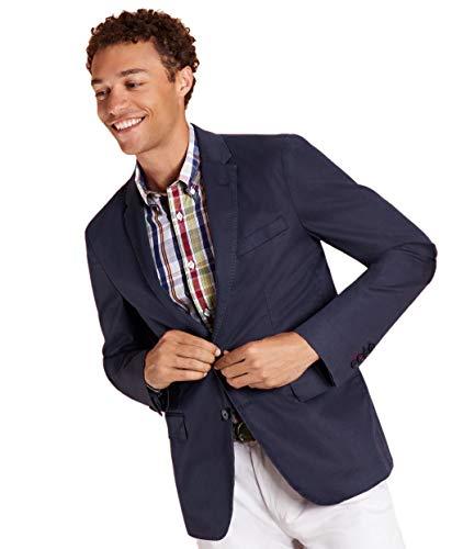 Brooks Brothers Mens 89759 Explorer Regent Fit 2 Button Wool Sports Coat Blazer Blue Grey (46R Regular)
