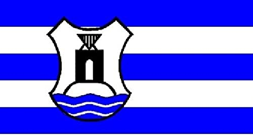 U24Drapeau du Norderney avec armoiries haute qualité pour bateau drapeau 120x 180cm