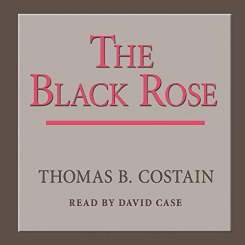 The Black Rose audiobook cover art