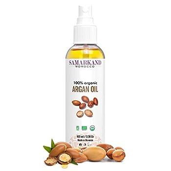 L'huile d'argan BIO 100% pure de première pression à froid pour le corps et les cheveux - L'original du Maroc est riche en ingrédients biologiques et naturels qui ont un rôle très important dans le renouvellement et la régénération des cellules. Dans...