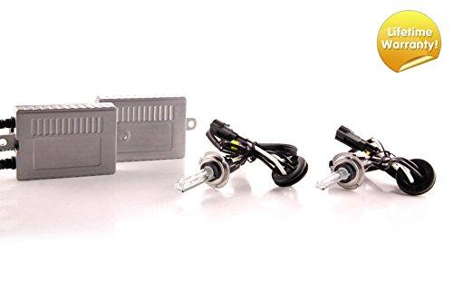 DDM Tuning Plus 35W Premium HID kit, Slim AC Ballasts w/Hi-Output Bulbs, H7, 5500K