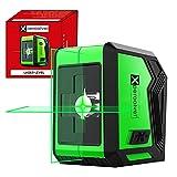 Nivel laser autonivelante verde lineas horizontal y vertical 15M impermeable...