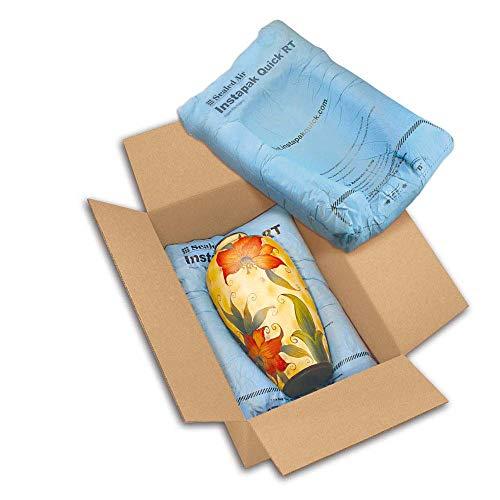 1x Instapak Quick Schaumverpackungen Blau 68 x 54 cm (Breite x Länge) 72 Beutel
