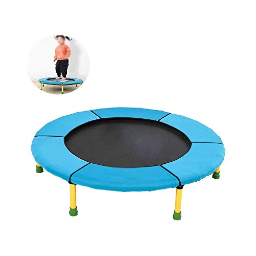 LKNJLL Toddler Trampoline - 36' Kids Trampoline - Mini Trampoline W/Sturdy Frame,Coil Spring,Safety Padded Cover -Heavy Duty Mini Trampoline Indoor Outdoor Toddler Trampoline