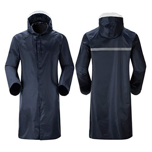 QTDH regenjas voor motorjacks, waterdichte regenjas met capuchon, herbruikbare windbreaker-poncho, voor golfvissen op motorfietsen.
