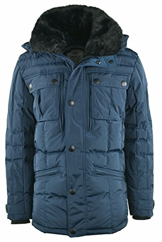 Wellensteyn Herren Snowdrift Jacke, Blau (Shadowblue SHB), X-Large