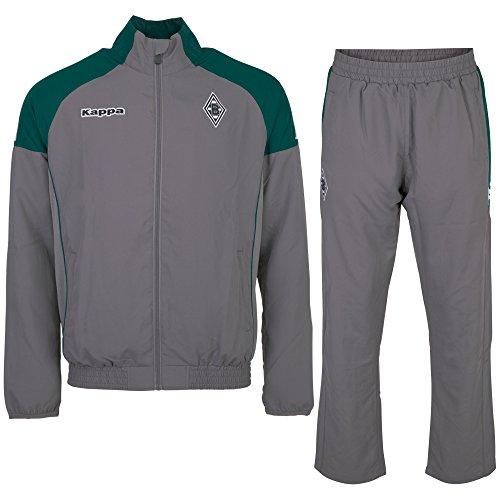 Kappa Herren BMG Presentation Suit Trainingsanzug, 485 Anthra, S