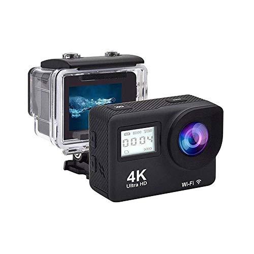 LKNJLL 4K-Action-Kamera 20MP WiFi-Fernbedienung Unterwasser 40M wasserdichte Sport-Cam for yutube/Vlog Videos, PC Webcam
