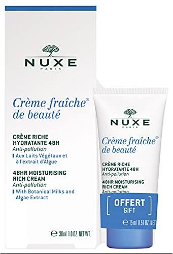 Nuxe Crème Fraîche de Beauté Crème Hydratante 48H 30 ml + 15 ml Offert