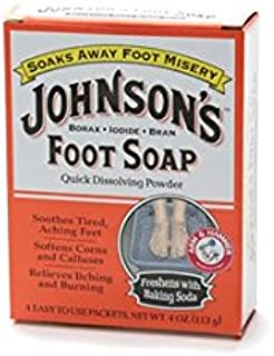 JOHNSON'S FOOT SOAP 8, one (1) Packets