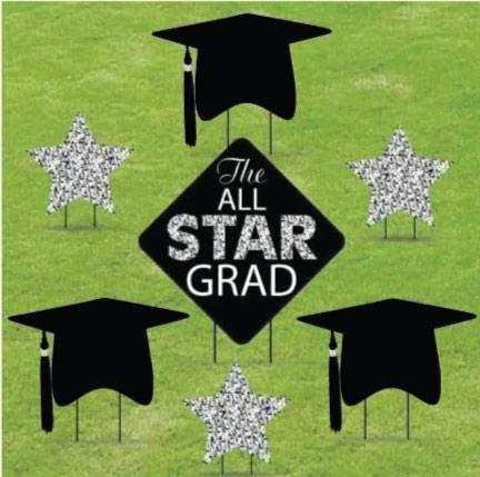 Direct stock Free Shipping New discount VictoryStore Yard Sign Outdoor Deco Lawn Graduation Decorations: