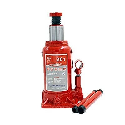BAOSHISHAN Hydraulic Bottle Jack 20 Ton Portable Car Repair Tool Lifting HoistingJack 425mm/16.7in