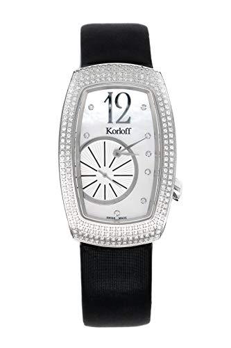 Korloff Diamond Watch Edizione Limitata Tonneau Ronde Bianco Madreperla Quadrante T30/739