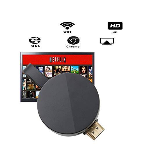 WQYRLJ 2.4G /5G 1080P Draadloze HDMI Tv Stick Wifi Dongle Ontvanger Spiegel Scherm voor Android Live Camera En Muziek Van PC/Telefoon naar TV, Monitor