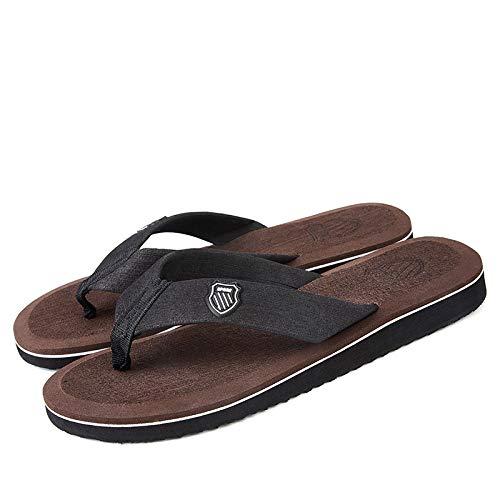 CZDXM Chanclas 2020 Verano Sandalias De Playa Zapatillas Antideslizantes para Hombres Zapatos Casuales Antideslizantes Zapatos Hombre 40-44