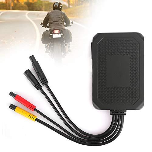Weikeya Amplio Motocicleta Grabadora, Mover Formato con Abdominales 1080p/60f/s Condensador Botón Batería
