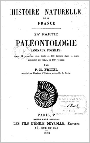 Paléontologie (animaux fossiles) (French Edition)