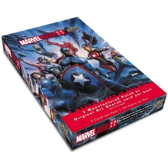 Upper Deck Marvel Annual 2017 Factory Sealed Trading Card Hobby Box