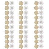 NEPAK Mujer 30 pares Desechable Pegatinas Pezón Pezoneras-pezón cubre Cubierta de Pezón