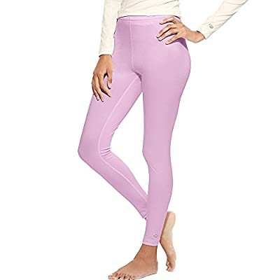 Duofold by Champion Women's Varitherm Base-Layer Thermal Pants_Ice Cake_M from
