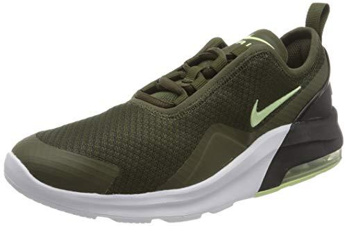 Nike Herren Air Max Motion 2 (Gs) Traillaufschuhe, Mehrfarbig (Cargo Khaki/Barely Volt/Black/White 300), 40 EU