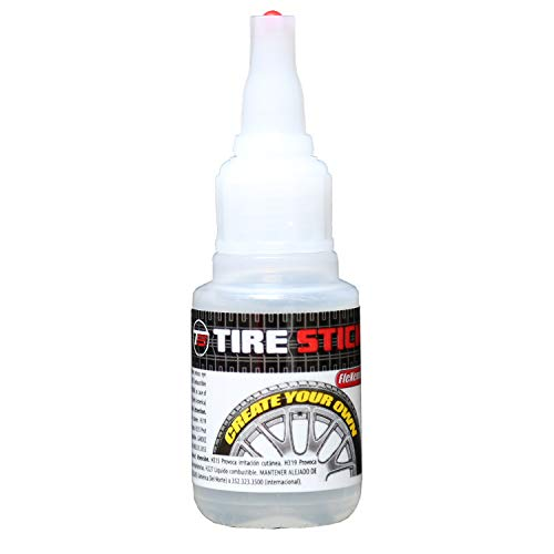 Tire Stickers - FleXement Tire Lettering Application Adhesive Glue - 30gm