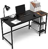 HOMIDEC Mesa de Ordenador, Escritorio de Computadora con Estantes Mesa de Estudio, Escritorios Modernos para Dormitorio, hogar, Oficina (120x60x75cm)