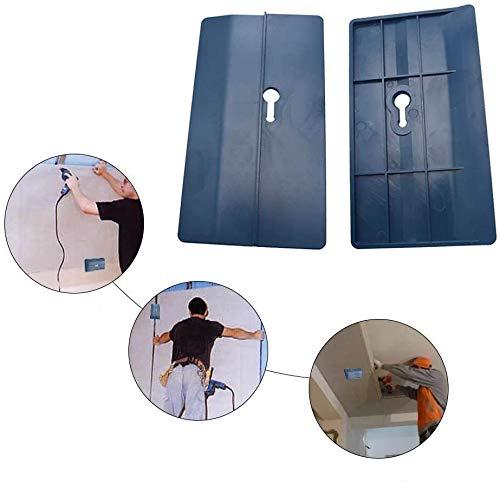 Decken-Trockenbau-Stützplatte, (2 Stück) Gipskarton-Befestigungswerkzeug, Gipsplatten-Plattenheber unterstützt die Platine während der Installation an Ort und Stelle