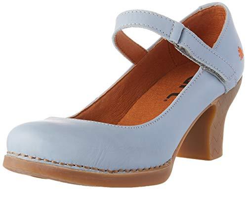 Art Harlem, Zapatos de tacón con Punta Cerrada Mujer, Azul (Sky Grey), 38 EU