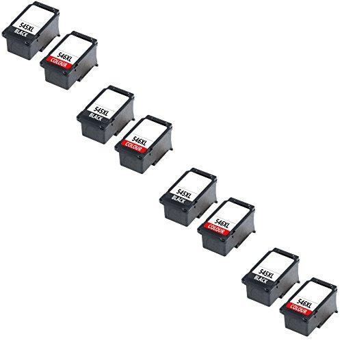 Prestige Cartridge 6 XL Compatibile PG-545XL Nero & CL-546XL