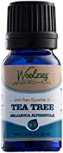 Woolzies Tea Tree Essential Oil 10 Ml 100% Pure Natural Therapeutic Tea Tree Oil for Face Skin Hair Topical Treatment for Acne Psoriasis Dandruff Nail Fungus Lice Cuts Bug Bites Skin Tag Remover