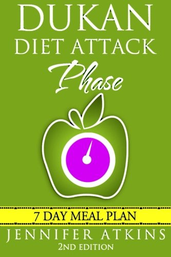 Dukan Diet: Attack Phase Meal Plan: 7 Day Weight Loss Plan