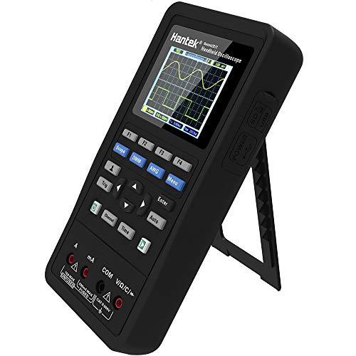 3-in-1 digitales, tragbares Oszilloskop, Signalquelle, Multimeter, 70 MHz, 2 Kanäle, DMM, AWG 250 MSa/s (Einzelkanal), 125 MSa/s (Zweikanal).