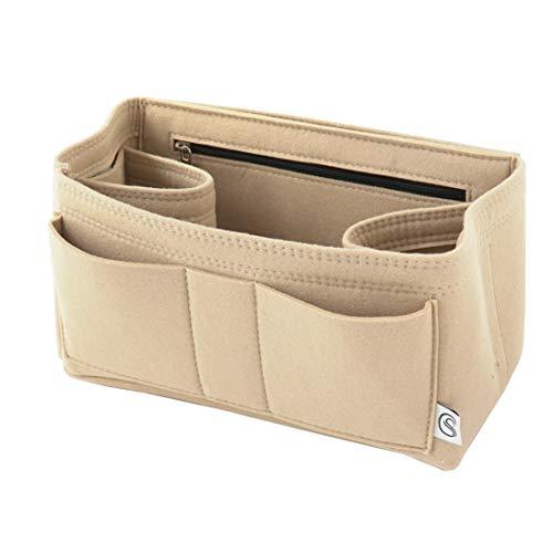 Classic Slash Taschenorganizer Filz für Speedy 30 Neverfull MM Large für Taschen ab 30cm Innenmaß I Beige