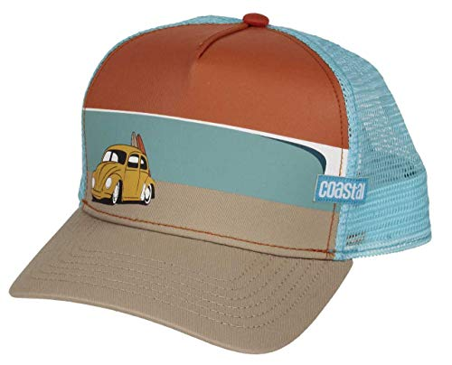 Coastal Trucker Cap Surf Beetle Orange - One-Size