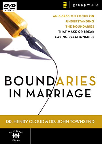 Boundaries in Marriage: An 8-Session Focus on Understanding the Boundaries That Make or Break a Marriage [DVD]