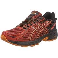 Asics Gel-Venture 6 GS, Zapatillas de Entrenamiento Unisex Niños, Rojo (Rust/Black 800), 40 EU
