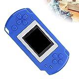 SHYEKYO Consola de Juegos, portátil Exquisito de la Consola de Juegos de los niños del Material del ABS para Viajar en avión(Blue)