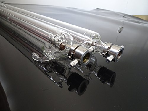 TNT Ship 2500-3000 Hours 100CMx50mm dimenstion 50Watt CO2 Laser Glass Tube Pipe for All Brand 50W CNC CO2 Laser Router Engraver Cutter