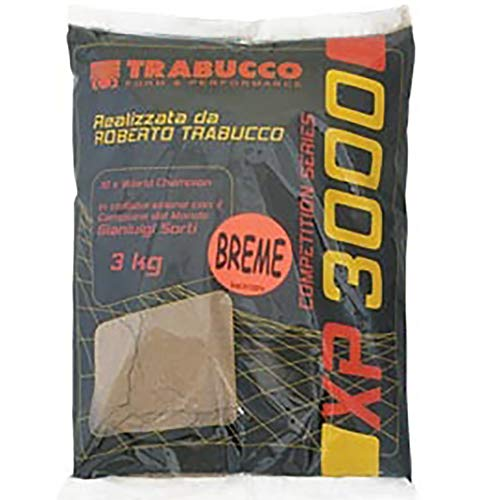 Trabucco Amorce XP 3000 3 Kg Brème Black Amorce de...