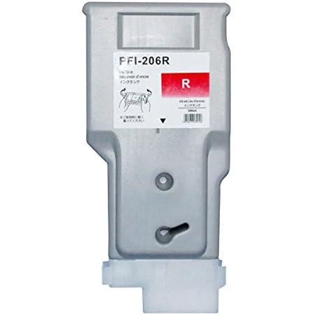 3年保証 キャノン (CANON)用【 PFI-206R 】互換 インクタンク (インクカートリッジ) iPF シリーズ対応 5309B001 ベルカラー製
