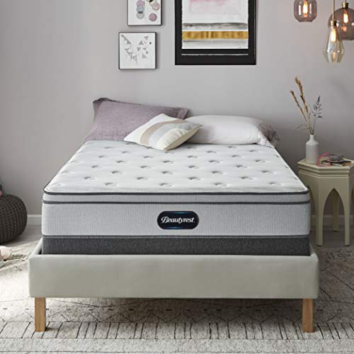 Beautyrest BR800 12 inch Plush Euro Top Mattress, Full, Mattress Only