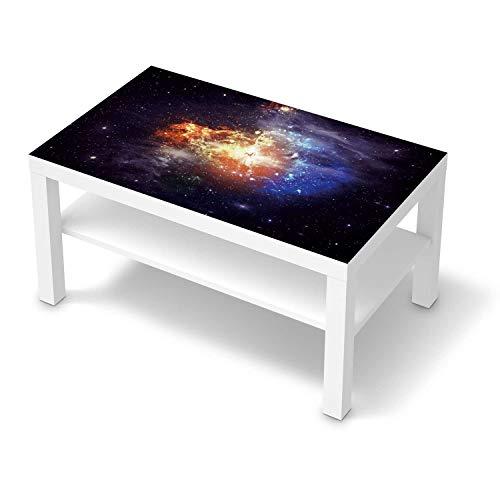 creatisto Klebe-Folie Möbel passend für IKEA Lack Tisch 90x55 cm I Möbelfolie - Möbel-Folie Tattoo Sticker I Schöner Wohnen für Schlafzimmer und Wohnzimmer - Design: Nebula
