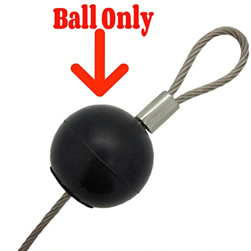 TreadLife Fitness Replacement Rubber Stopper Ball for Cable Gyms - Universal Size